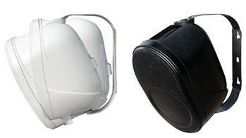 זוג רמקולים פאסיביים בצבע לבן AST H-5