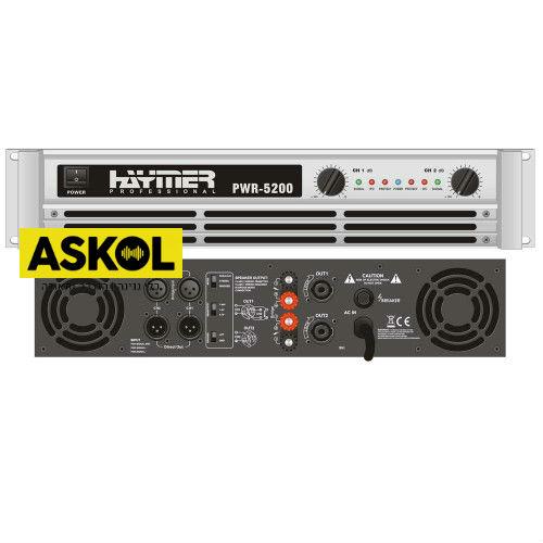 מגבר כוח Haymer PWR-5200