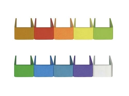 סט טבעות צבעוניות לסימון מיקרופון Mipro RH-87