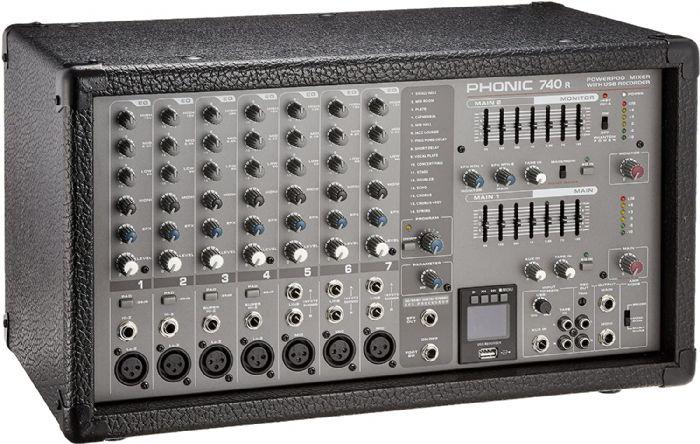 מיקסר מוגבר Phonic POWERPOD 740 R