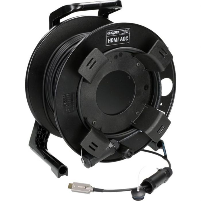 כבל HDMI 2.0 AOC 18GHz אורך 50 מטר בגלגלת Klotz