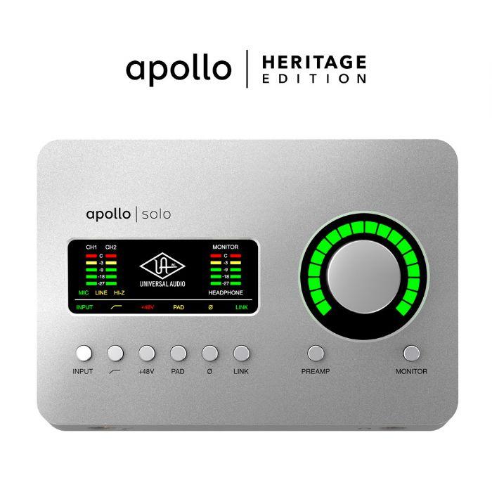כרטיס קול Universal Audio Apollo SOLO USB Heritage Edition