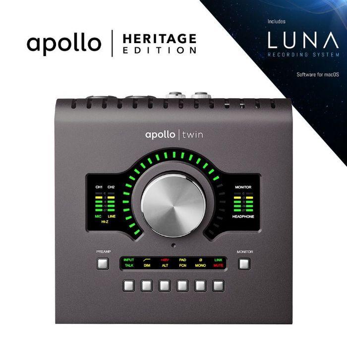 כרטיס קול Universal Audio Apollo Twin DUO MKII Heritage Edition
