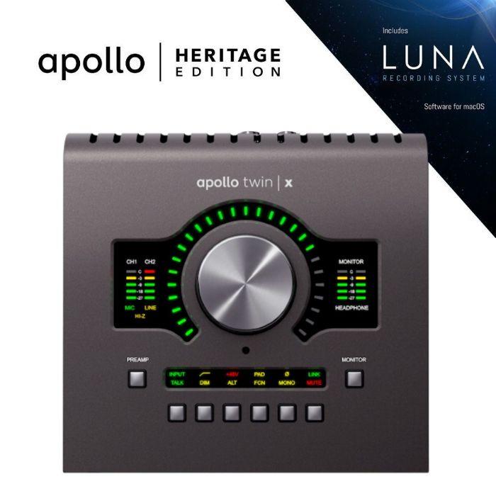 כרטיס קול Universal Audio Apollo Twin X DUO Heritage Edition