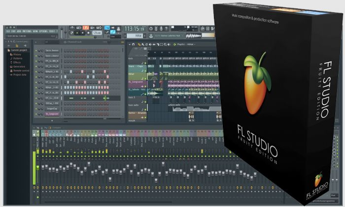 תוכנת יצירת ועריכת מוזיקה FL Studio - Fruity edition