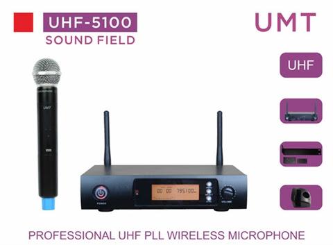 סט אלחוטי נטען בודד דגם UMT SFD 5100
