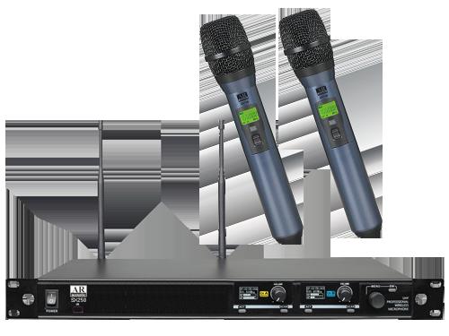 ברצינות מיוזיקול הגברה ותאורה - מיקרופון אלחוטי מקצועי כפול AR UV-81