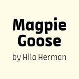 לוגו magpie goose