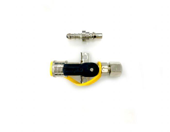 ברז ניתוק מהיר ללחץ גבוה 2.8 בר