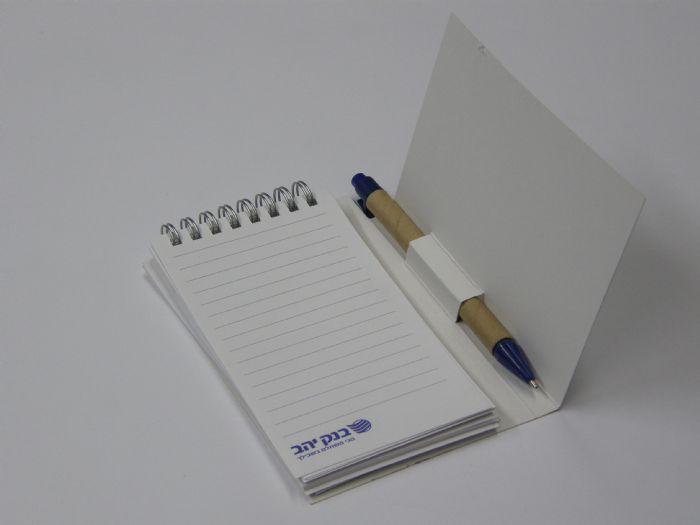פנקס עט ספירלה