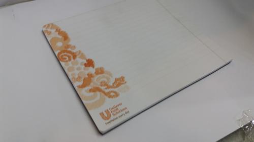 רשומון מצע משטח 30 עד 50 דפים