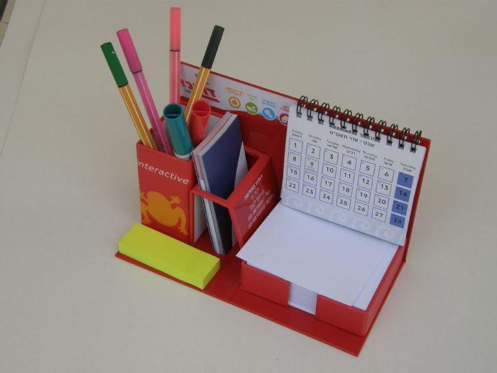 מעמד שולחני לוח שנה מהודר