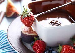 פונדו שוקולד