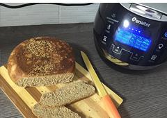לחם דגנים עם אגוזי פקאן וזרעונים