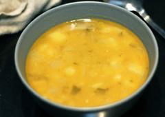 Pea and Potato Soup
