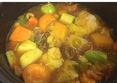 Couscous Soup and Couscous
