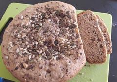 Easy Homemade Bread with Whole Spelt Flour - Osnat Mizrahi