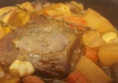 Beef and Root Vegetable Stew - Adi Shilon Kmisa
