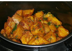 Indian-Style Potatoes
