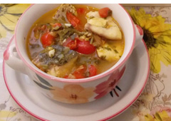 Warm, Delicious Fish Goulash