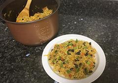 תבשיל אורז צמחוני מפנק