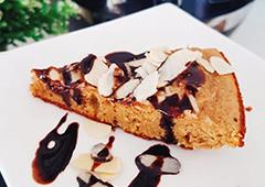 עוגת שקדים ללא סוכר וללא גלוטן