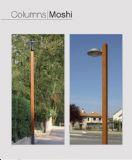 עמוד תאורה MOSHI מעץ 4-12 מטר