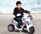 אופנוע משטרה לילדים 6V פוליס ריידר, פג פרגו