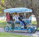 אופני פארק לארבעה מבוגרים ושני ילדים