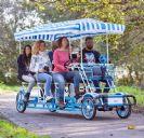 אופני פארק לשישה מבוגרים ושני ילדים