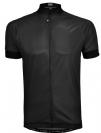 חולצת רכיבה קצרה לגברים 651301 שחור/צהוב