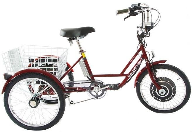 מתקדם תלת אופן ממונע עם מנוע חשמלי - פרידמן אופניים NS-46