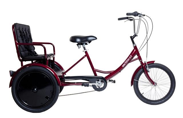 מדהים אופני ריקשה למבוגר ו 2 ילדים - פרידמן אופניים YX-76