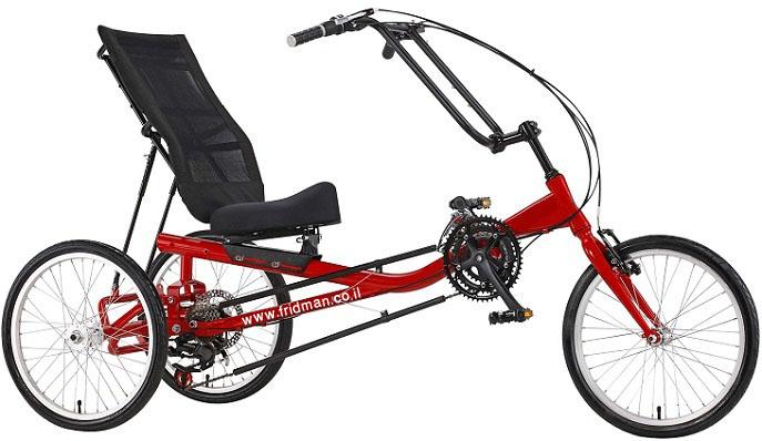 ברצינות פרידמן הנע/אה - אופני נוחות למבוגרים GE-44
