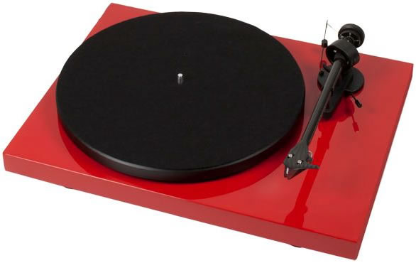 פטיפון Pro-Ject Debut Carbon 2M RED DC