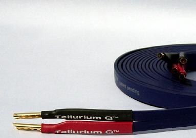 כבל לרמקולים Tellurium Q Blue