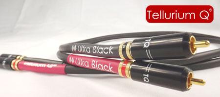כבל אודיו Tellurium Q Ultra Black RCA