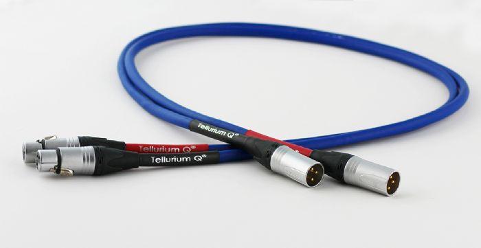 כבל אודיו Tellurium Q Blue XLR