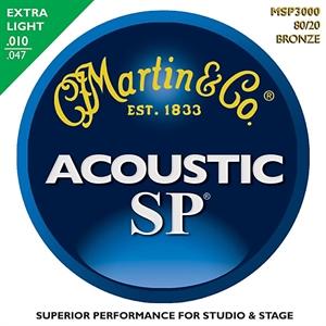 סט מיתרים 010 לאקוסטית MARTIN SP MSP3000