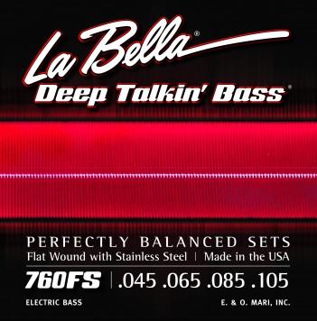 מיתרים לגיטרה בס LA BELLA DTB 760FS