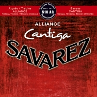 סט מיתרים לקלאסית SAVAREZ ALLIANCE CANTIGA 510AR