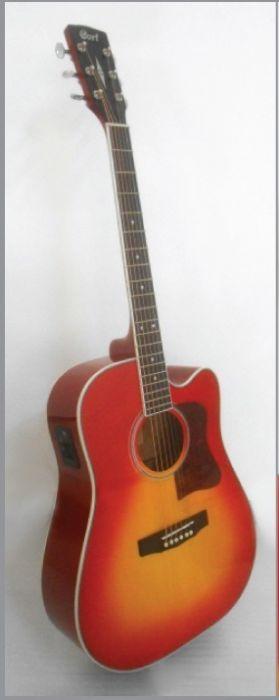 גיטרה אקוסטית מוגברת CORT AD-FMC CSB CUT AWAY