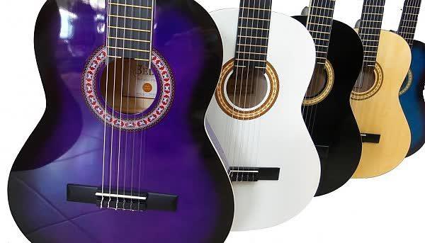 גיטרה קלאסית 1/2 BELL במבחר צבעים