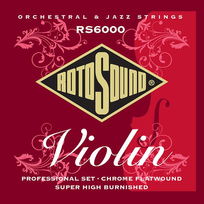 סט מיתרים לכינור ROTOSOUND RS6000