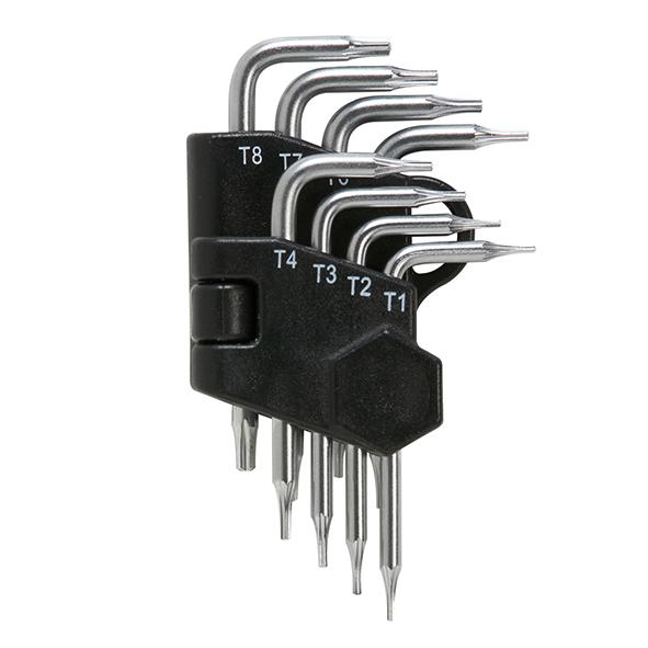 סט 8 מפתחות TORX