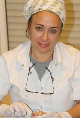 שרה זעפרני - פדיקוריסטית רפואית וספרית