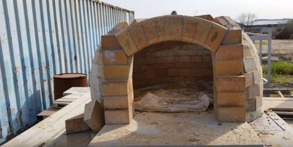 בניית טאבון מאבן