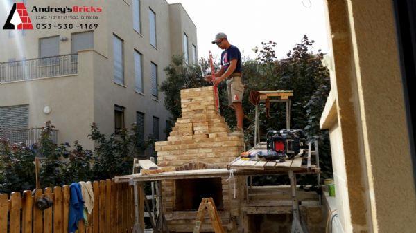 בניית מנגל מאבנים