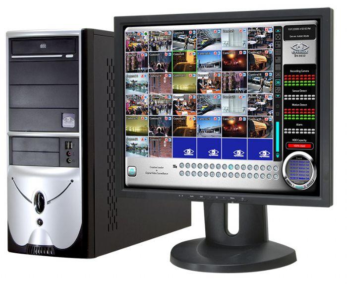 ערכת DVR מבוססת מחשב 25FPS 4CH TV Out