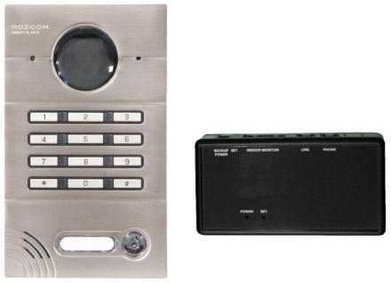קיט אינטרקום קודן עם מתאם טלפון דגם 102